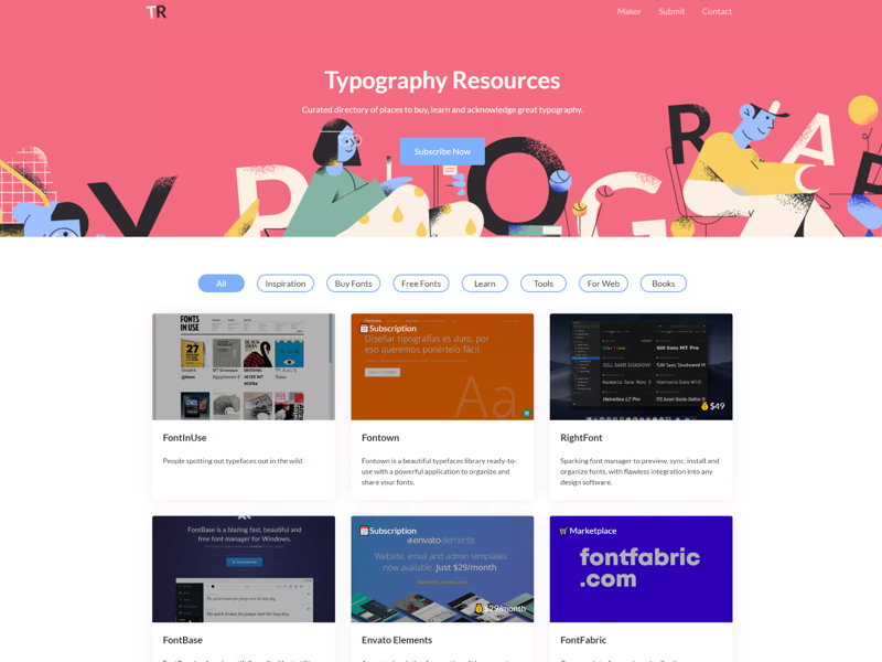 Typography Resources by Amrit Pal Singh