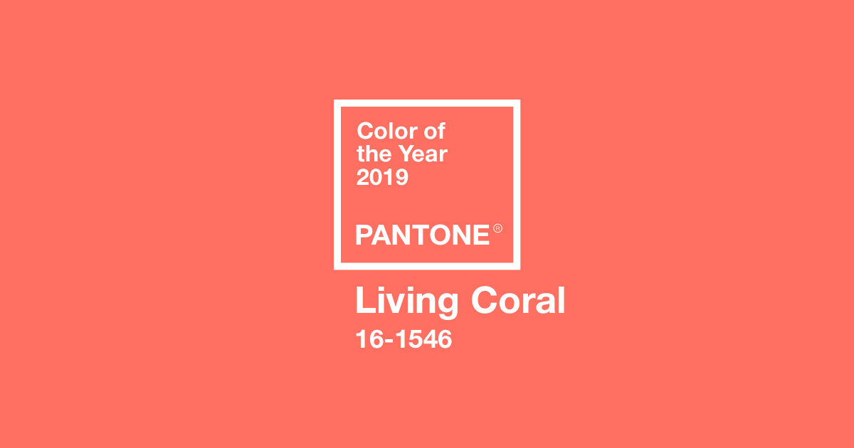 color of the year 2019 pantone 16 1546 living oral tcx